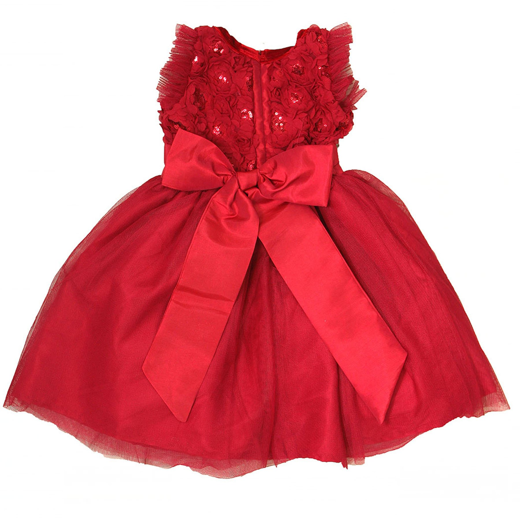 Purrfect by haute baby quot holiday sparkle quot toddler red dress